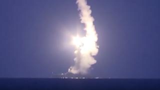 ロシアがシリアのイスラム国拠点に26発のミサイルをお見舞いフルボッコに(動画有) …カスピ海
