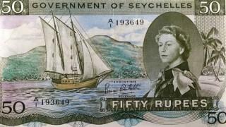 ルピー紙幣の隠し文字が中学生の落書きレベルでワロタwwwww …女王肖像の後ろにあの文字が描かれたお札に6万円の値がつく