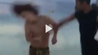 グアムでローカルにぶっ飛ばされる日本人(動画)