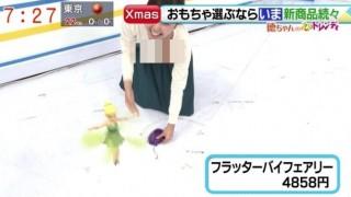 徳重杏奈アナのチクビ これ見えてね?(画像)女子アナの乳首が映る放送事故ハプニング!?