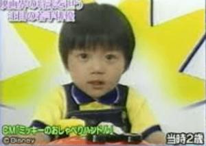 神木隆之介 子役 ミッキーのおしゃべりハンドル-300x213