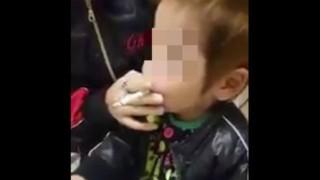 3歳の子供にタバコ吸わせた親の謝罪文がいろいろ酷い…幼い息子が「煙草吸う」動画が大炎上 批判殺到