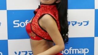永井里菜さんキュートな笑顔が魅力のセクシー娘  微妙すぎて2ch反応に困る …ソフマップ イベント