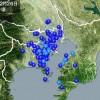 昨夜に頻発した東京湾震源の地震 2chの反応「遂に関東巨大震災来るのか?」