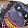 【パクリ大炎上】多摩美出身アーティストMUSTONE(マストワン)氏 トリコの猿王バンビーナを完全コピーして佐野る…徳島市の護国神社で披露されたジャンボ絵馬が話題に