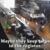 本物の泥棒をCMに 防犯カメラ映像をユニークに加工したタコス屋の宣伝動画がおもしろいwww