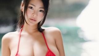 元レースクイーンのグラドル喜多愛が南真菜果としてavデビュー!正真正銘のSS級極上ボディB95Hカップ!