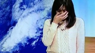岡田みはるさん本番中に泣き出した真相「いじめ」「嫌がらせ」憶測飛び交う…NHK山形 天気予報のお姉さん号泣放送事故ハプニング動画