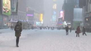 歴史的豪雪に見舞われたニューヨークの様子(画像)…アメリカも記録的な大雪で大パニック