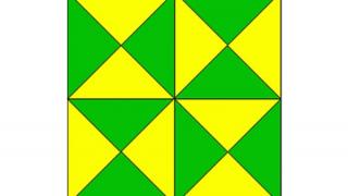 この図形の中に三角形は何個あるでしょう?見つけた数が多いほど高IQらしい