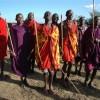 ケニア・マサイ族の客のもてなし方…  おまけ画像:イケメンなマサイ族男性たち