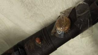 天保2年から受け継いでる短剣を文化遺産調査に出した結果<画像>セロハンテープで補修されボロボロに?