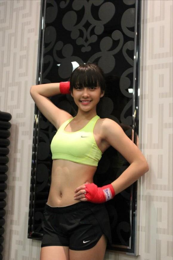 ベトナム 美人ボクサー 画像