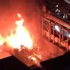 昨夜の名古屋市大須商店街 大火災の様子 ※動画※