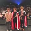日本一のイケメン高校生 短ランでガッツポーズ<画像>盛大に2chでいじられる…男子高生ミスターコン2015‐2016