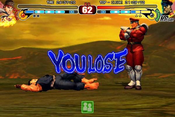 Ryu-Bison Lose