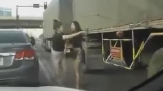 女性同士の殴り合いのケンカ<動画>こんなん笑うわwwwwww