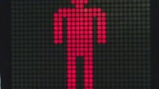 歩行者が信号無視した結果<GIF画像>どうしてこうなる・・・
