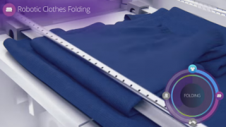 【新製品】全自動マシンが洗濯物をきれいに折り畳んでくれるデモ映像<動画>これはマジで欲しい(=゜▽゜=)