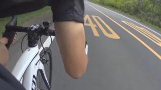 公道を自転車で時速70kmを出してみた<動画>スピード違反しててワロタwwwwwwww
