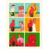 あのスペイン人6コマ漫画家のシュールな新作が投稿<画像>マンガでお前らの読解力を試すスレ