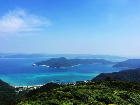 ④奄美自然観察の森から龍郷湾