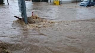 昨日の洪水を全力で楽しんで夏を満喫する人見つけたwwww
