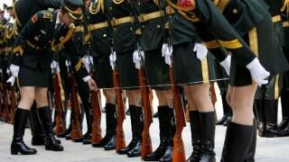 中国人民解放軍の女の子たちが可愛すぎる<画像>中国軍(女)の訓練の様子
