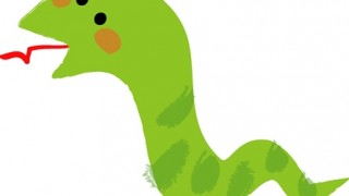 昆虫を食べたトカゲを食べたヘビ 奇跡の化石みつかる ⇒ 画像