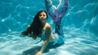 イギリスの海岸に打ち上げられた人魚の死体<動画像>コレは・・・