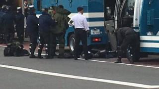 渋谷みずほ銀行で危険物 事件発生か 警察出動 銀行内から避難誘導