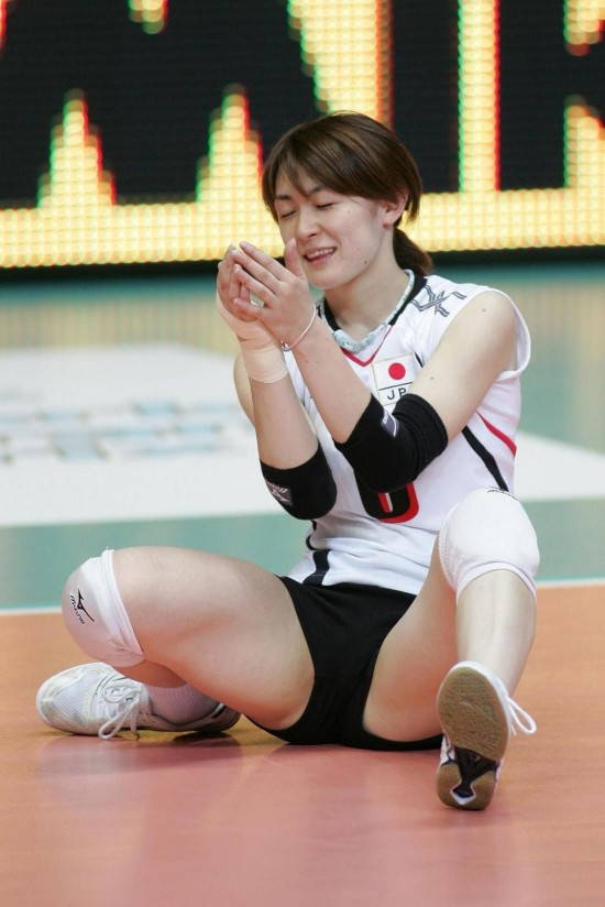 the libero of Japan Kaoru Sugayama