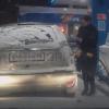 ガソリン給油中にライターで給油口を照らした結果 →動画とGIF