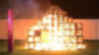 あ!人が燃えてる!動画撮ってtwitterにあげたろ!の精神… 神宮外苑の火災ジャングルジム 佐伯健仁(けんと)くん死亡事故