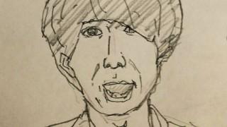 今年話題になった人物の似顔絵を描くから当ててけwwwwww