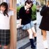 【画像】中国のいまどき女子高生が日本の制服着てみたらwwwww