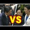 安倍総理と蓮舫代表の党首ブーメラン討論を的確に描いた風刺画が話題→ 画像
