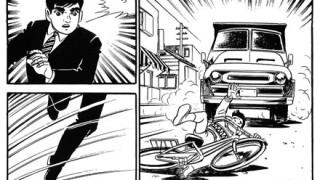 突っ込んでくる車から子供2人を助ける漫画みたいなヒーロー現る→ 動画とGIF