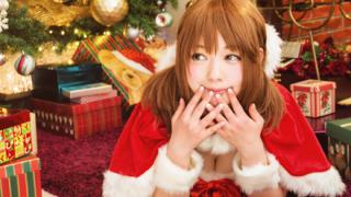 クリスマスにサンタさんのコスプレしてくれてる女の子たち<画像>ありがとやで~