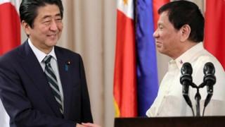 【朗報】フィリピン1兆円支援した結果<画像>安倍ちゃん大人気でみんなニッコニコー