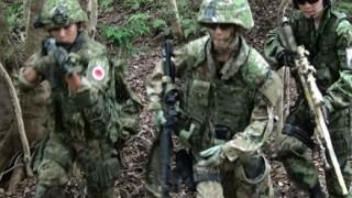 日韓サバイバル戦 韓国の特殊部隊と自衛隊の精鋭エリート12対12の模擬戦を行った結果