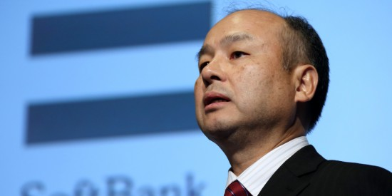 SoftBank Chief Executive Officer Masayoshi Son Earnings News Conference