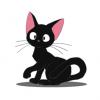 「神様かも」と話題の可愛すぎる黒猫ちゃん → 画像