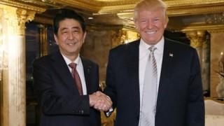 トランプ大統領と安倍首相 恋愛に発展の予感 ツーショット画像がヤバいwwwww