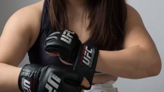 エロかわすぎる女子格闘家KINGレイナがMUTEKI