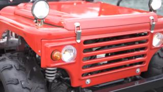39万8千円の新車 公道を走れる『四輪ミニカー』が話題 「next cruiser」動画像