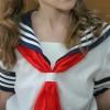 ロシア人美少女にセーラー服を着せてみた結果 → 画像