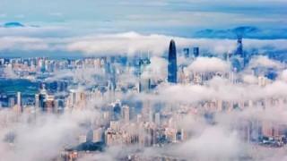 【画像】まもなく完成予定の中国の最先端都市がヤバ過ぎるwwwww