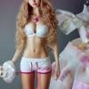 スタイル良すぎるリアル『バービー人形』ロシア人モデル アンジェリカ・ケノバさんの画像を飽きるまで貼る