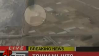311東日本大震災の時テレビに映った謎の白い動く物体ってなんだったの ※GIFと動画※